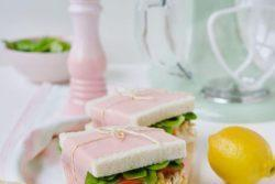 Sanduíche de salpicão de frango