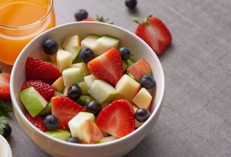 Cestinha de salada de frutas