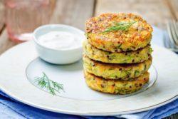 Hambúrguer especial de quinoa