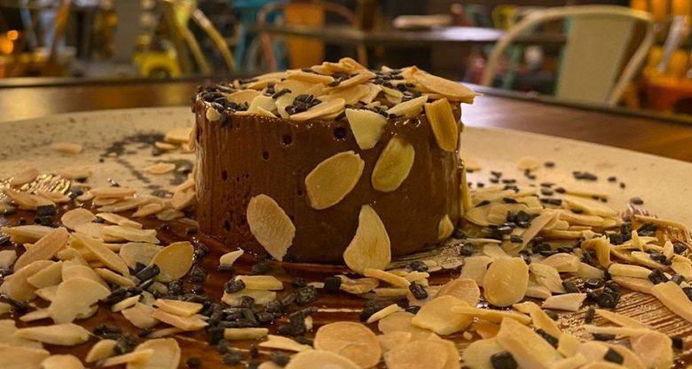 Mousse de chocolate meio amargo diferente