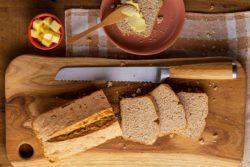 Pão rápido (Soda Bread)